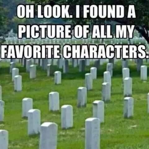 I WISH THIS WASN'T TRUE BUT SADLY IT IS. I WISH HIDE DIDN'T DIE IN TOKYO GHOUL. I WISH ZEROS BROTHER DIDNT DIE IN VAMPIRE KNIGHT. I WISH ERENS MOTHER DIDNT DIE IN ATTACK ON TITAN.
