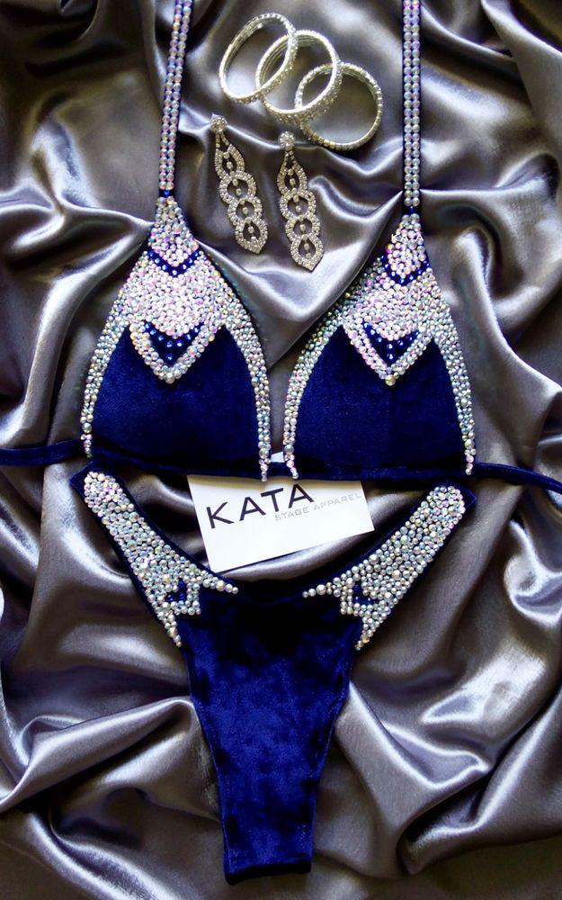 NATALIE Fitness Posing Bikini Competition Suit Figure Physique NPC IFBB UKBFF | Clothing, Shoes & Accessories, Women's Clothing, Swimwear | eBay!