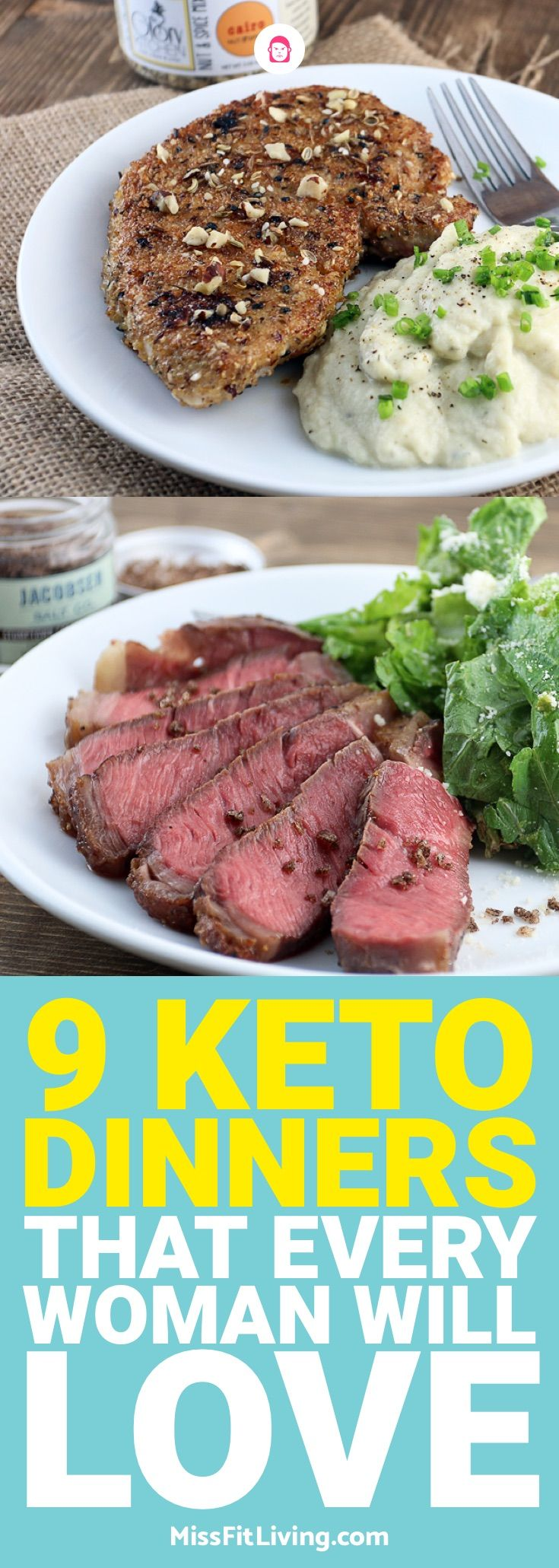 Hoping to lose weight with keto? Then you need to make sure you are eating the right meals. These 9 keto dinners will put you on the right path.