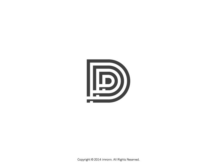 https://dribbble.com/shots/1588719-DP-Monogram Author's