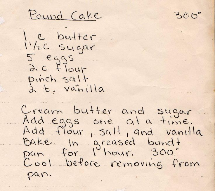 With just five simple ingredients, you can easily create this moist and delicious old-fashioned pound cake from a vintage recipe. Pound c...