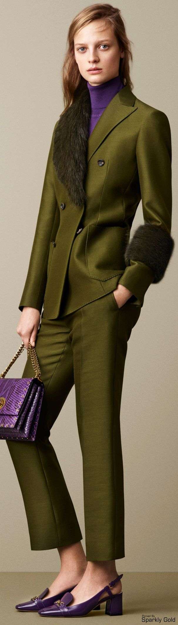 Bally Fall 2015 RTW women fashion outfit clothing style apparel @roressclothes closet ideas