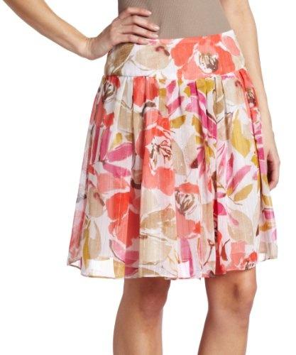 Chaus Women`s Tossed Bouquet Skirt