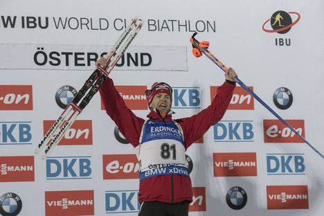 02.12.2015, Oestersund, Sweden (SWE):Ole Einar Bjoerndalen (NOR) - IBU world cup biathlon, individual men, Oestersund (SWE). www.nordicfocus.com. © Manzoni/NordicFocus. Every downloaded picture is fee-liable. NordicFocus