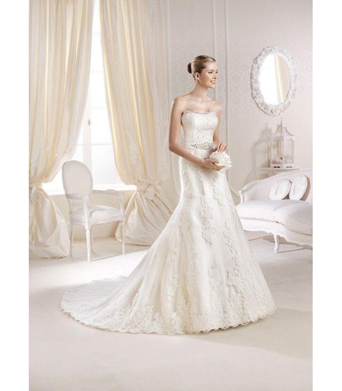 Vestido de novia Maya de La Sposa. Precio en temporada: 1800€