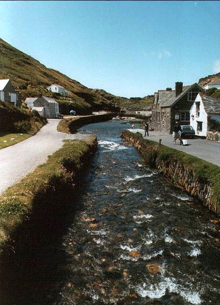 Boscastle: Cornwall: UK