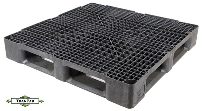 45x45 Stackable Plastic Pallet for export and shipping