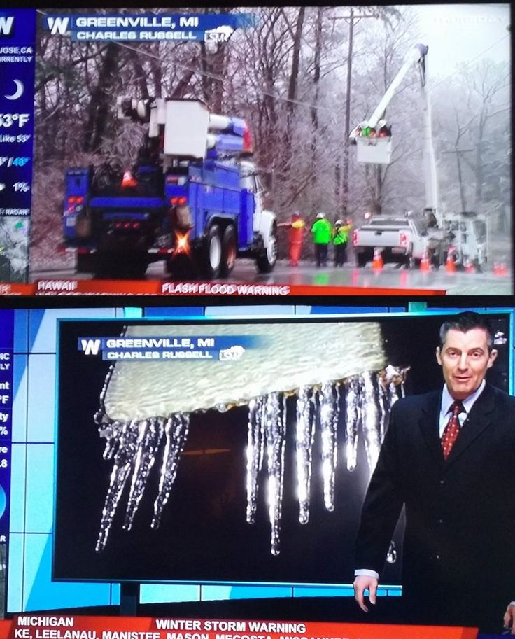 Ice Storm - WeatherNation - 3/25/16