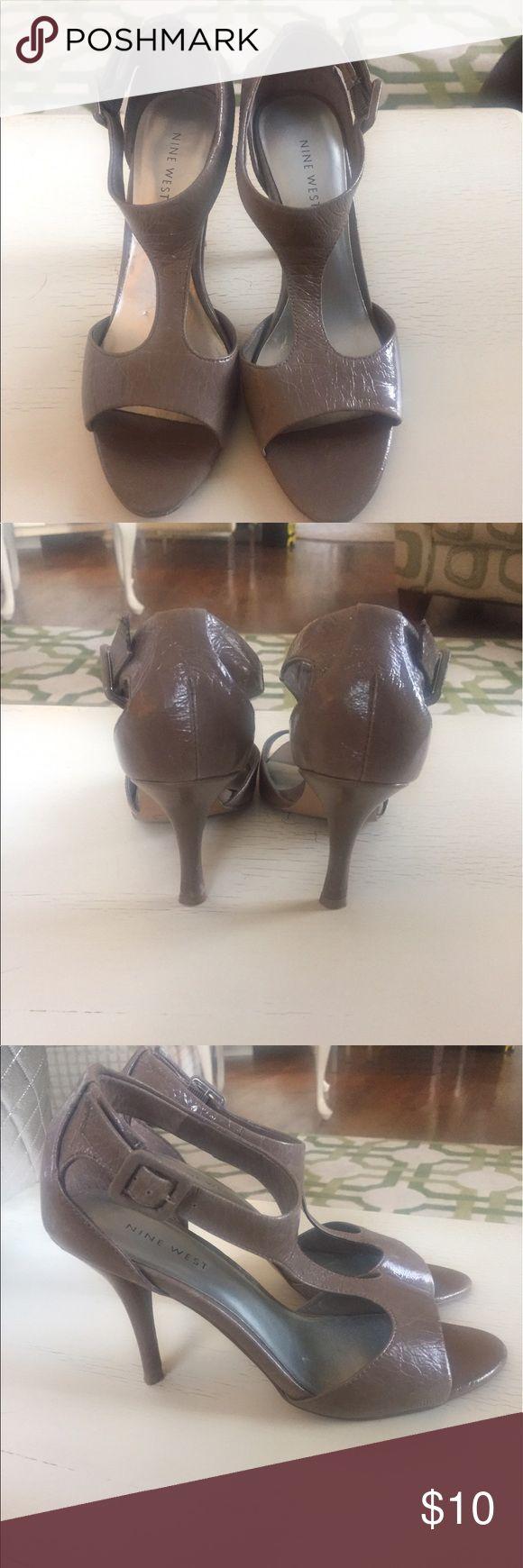 Nine West Tan Heels Size 7.5 Tan Nine West Heels Nine West Shoes Heels