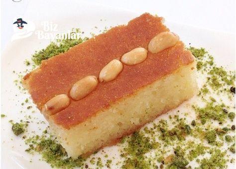 Şam Tatlı Tarifi Bizbayanlar.com  #Irmik, #KarbonatFıstık, #Şeker, #Süt,#ŞerbetliTatlılar http://bizbayanlar.com/yemek-tarifleri/tatli-tarifleri/serbetli-tatlilar/sam-tatli-tarifi/