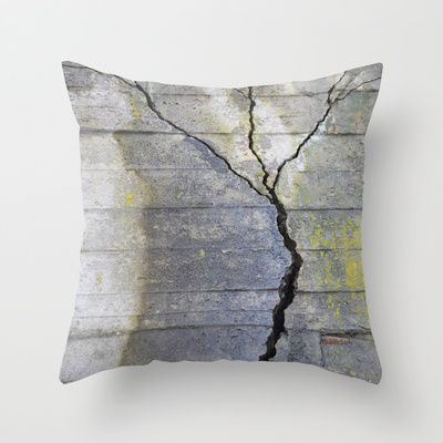 "Throw Pillow / Indoor Cover (16"" X 16"") • 'Betongtre' • IN STOCK • $20.00 • Go to the store by clicking the item."
