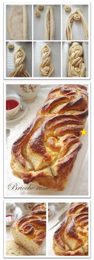 Sample of how to make a beautiful presentation for a cinnamon bread. Original instructions are in Italian and a problem to translate to English.