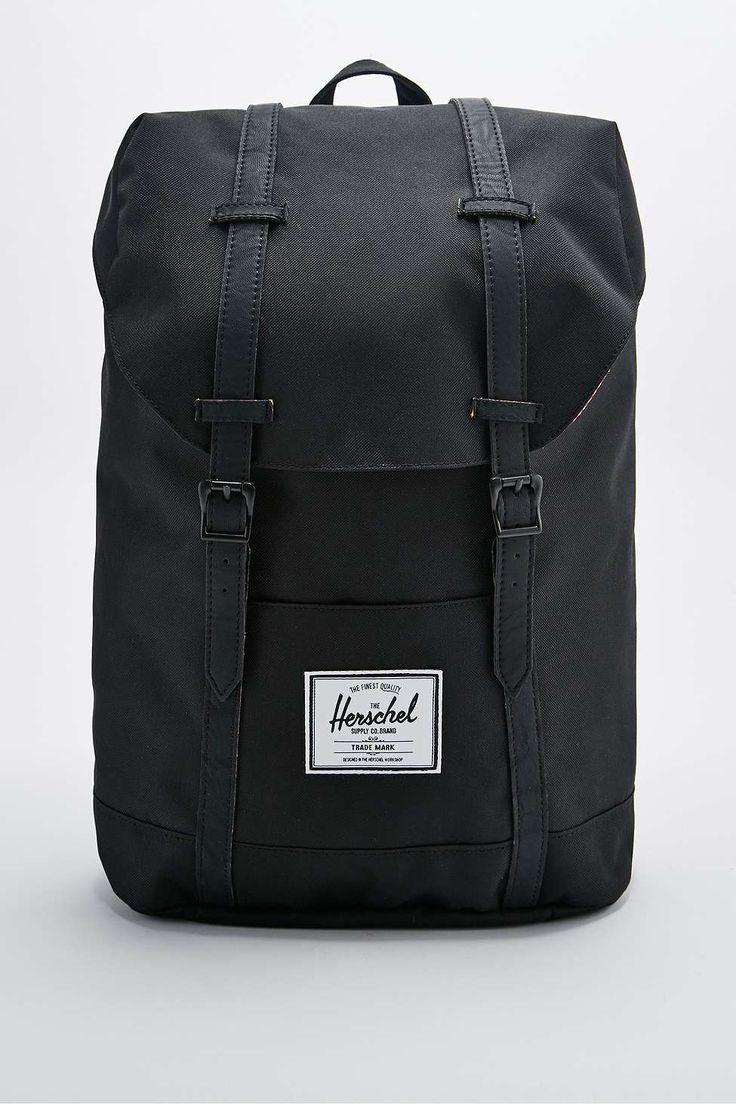 Herschel Supply co. Retreat Backpack in Black