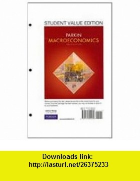 10 best book best images on pinterest pdf tutorials and book macroeconomics student value edition plus myeconlab with pearson etext student access code card package 10th edition 9780132738705 michael parkin fandeluxe Gallery