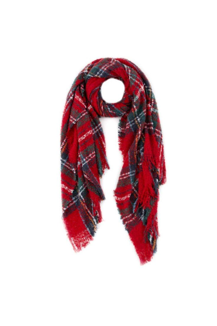 Best 25+ Red plaid scarf ideas only on Pinterest | Buffalo plaid ...