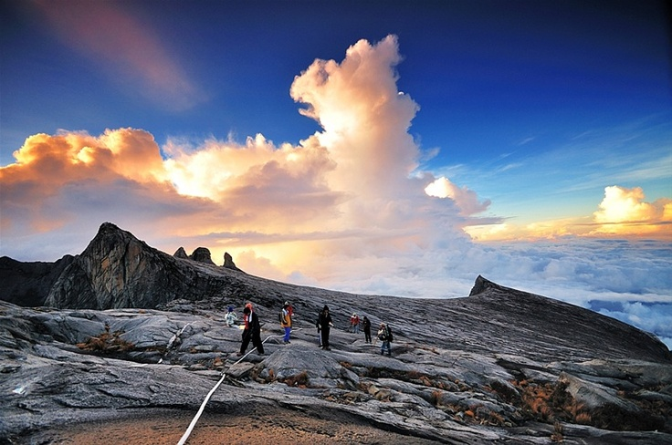 Mt Kinabalu, Kota Kinabalu, Malaysia, 2015. Took my wife to Kota for her bday. I died a million times going up this mountain. But it was all worth it!