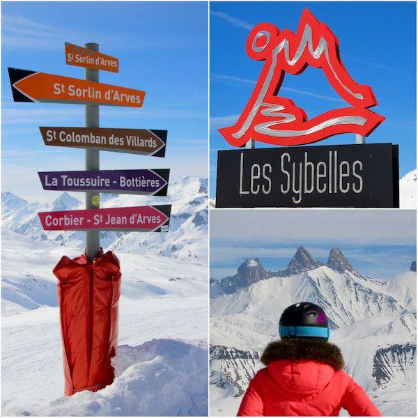 Les Sybelles, groot skigebied voor kleine portemonnee