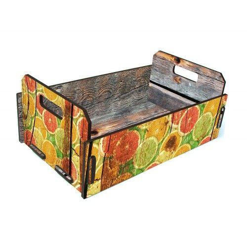 Caixote Fruteira Frutas Cítricas