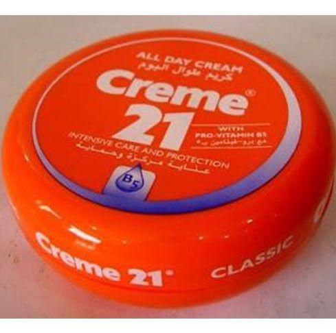 Cream 21 All Day Cream 150 ml Made in German Cocok untuk yang mau umroh/naik haji atau yang berpergian ke luar negeri dan dapat digunakan untuk day cream. Tekstur cream cocok untuk negara tropis/kering Sudah BPOM : NC16130103285 MFG date 02.2015 (waktu produksi) Exp date 02.2018 (waktu kadaluarsa) N…
