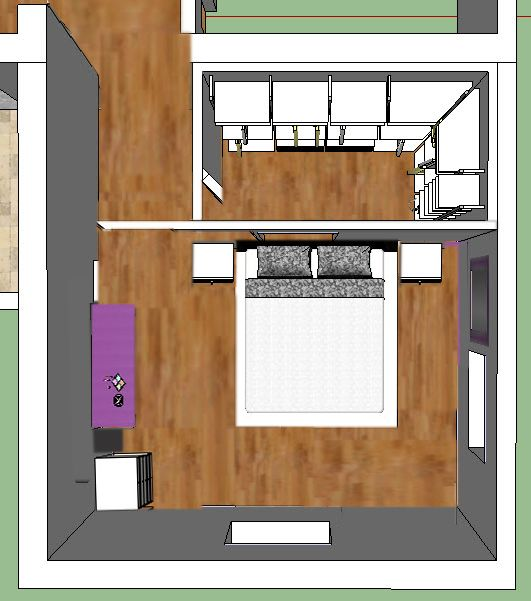 Oltre 25 fantastiche idee su letto armadio su pinterest for Planimetrie della cabina 4 camere da letto