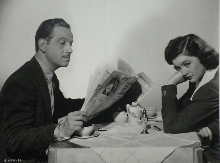 1940 Original Myrna Loy Melvyn Douglas