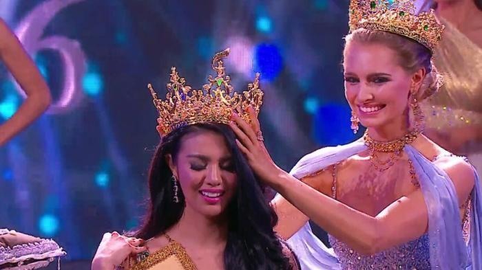 Ariska Putri dari Indonesia Menang di final Miss Grand International 2016, Pertama Kali Jawara!