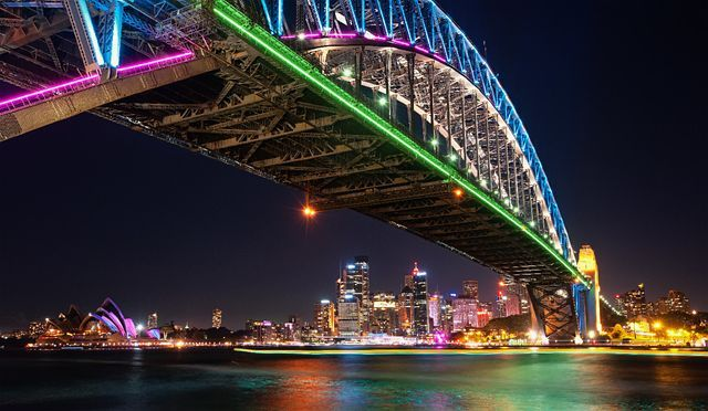 Click to enlarge image - Sydney Harbour