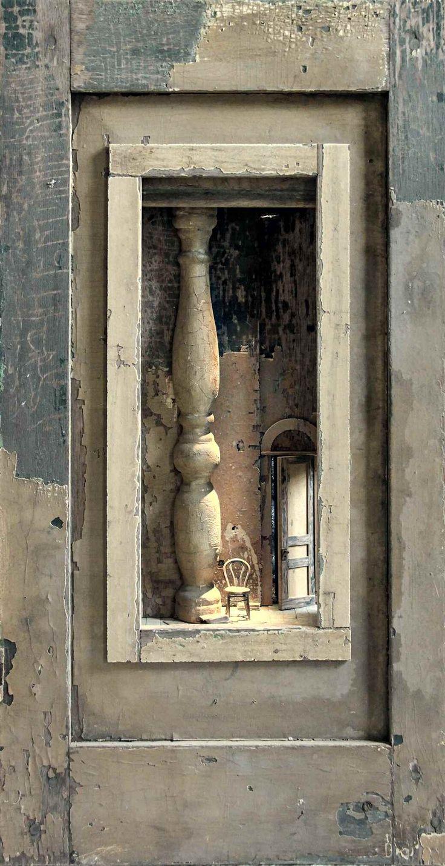 'Kijkkast met baluster' by Peter Gabrielse 1937