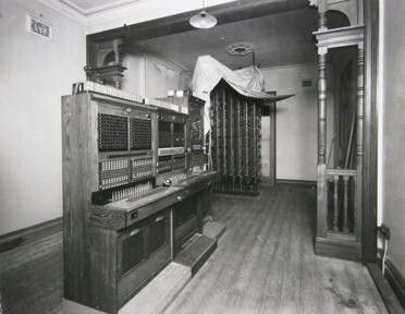 Gore Hill Emergency Telephone Exchange at St. Leonards,in the Lower North Shore of Sydney in  1942.  •Willoughby Council•