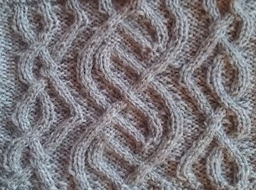 Celtic Love Knot Knitting Pattern : 17 Best images about celtic cables on Pinterest Free pattern, Rowan and Rav...