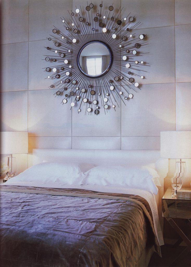 Starburst Mirror   Focal Point (Bedroom)