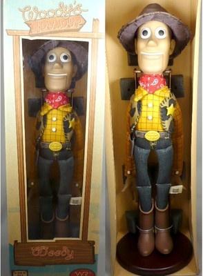 Japan Toy Story Woody Roundup Figure Vintage Version | eBay
