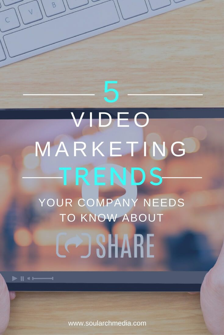 5 Video Marketing Trends Your Company Needs To Know About In 2017