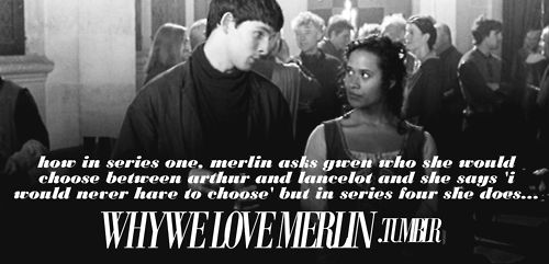 Although Technically She Was Enchanted Lol Merlin