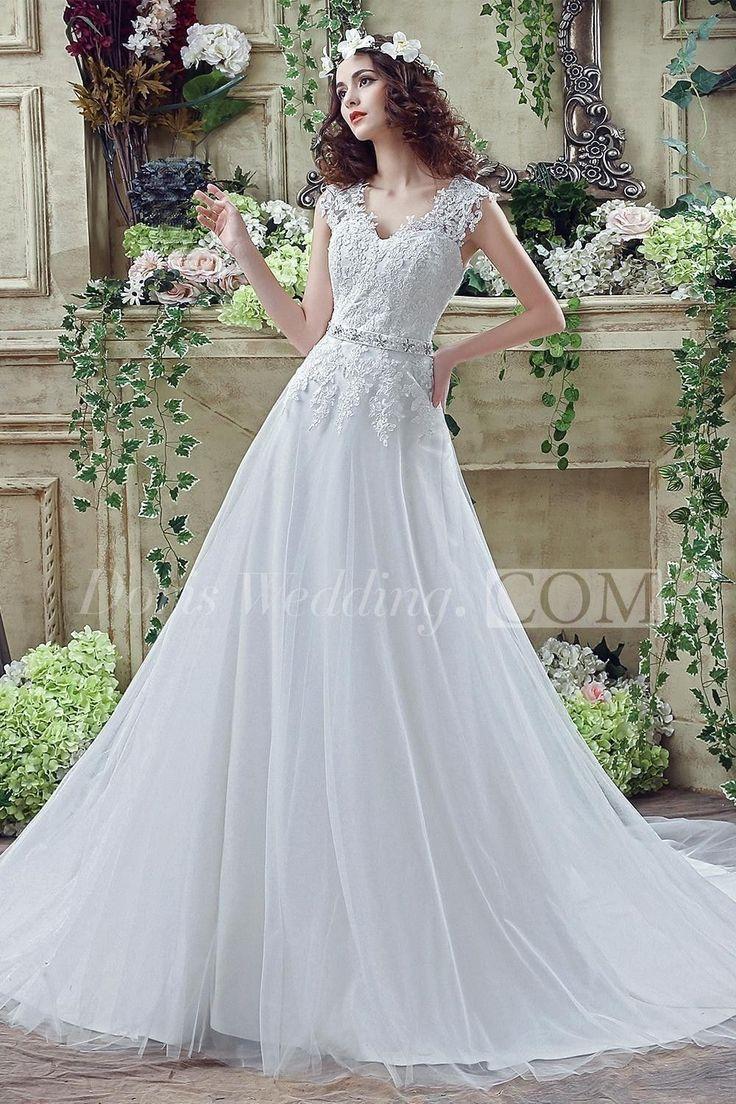 7 best Lovely Wedding Dresses images on Pinterest | Short wedding ...