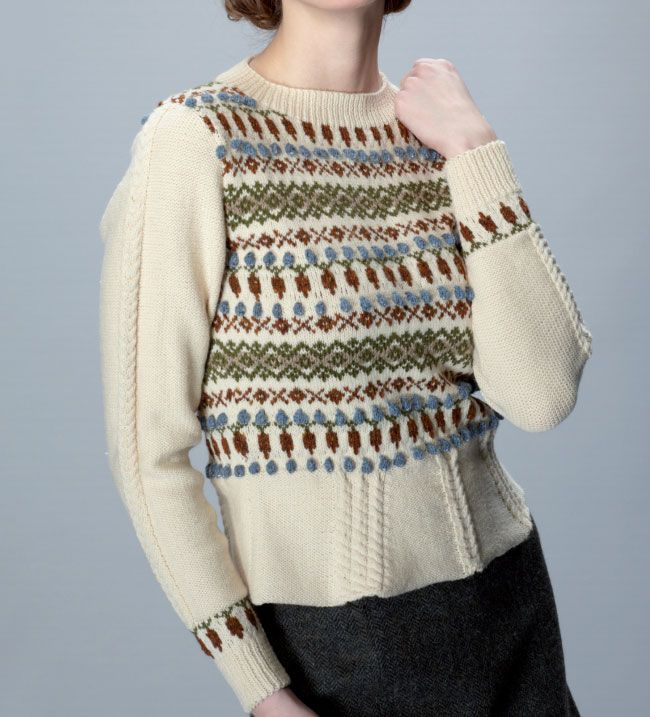 57 best Fairisle Knitting Patterns images on Pinterest | Free ...