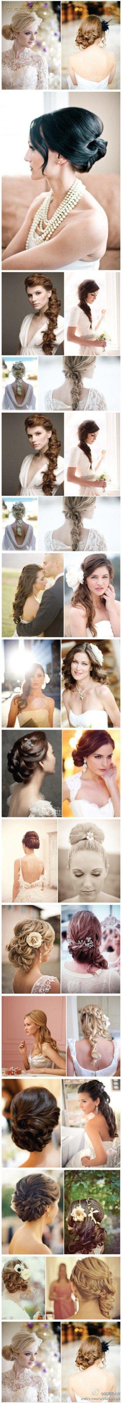 27 ślubnych fryzur - znajdź coś dla siebie!