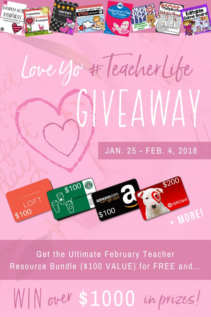 Holy awesome giveaway, Batman!!!  Entering is FREE and the prize is AMAZING!  Love Yo' #TeacherLife Giveaway