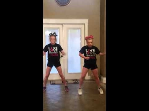UCA 2016-2017 Cheer Tryout Dance Cammy & Sydney - YouTube