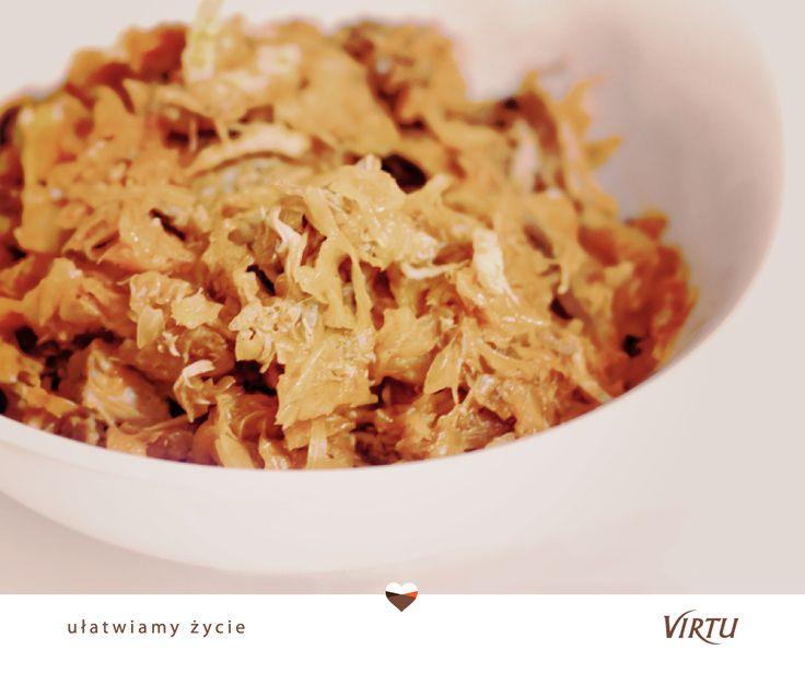 Pomysł na szybki obiad: tradycyjny bigos lub bigos myśliwski od #Virtu. :)