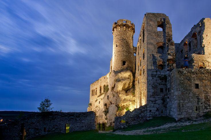 Zamek Ogrodzieniec w Podzamczu - Jura Krakowsko-Częstochowska