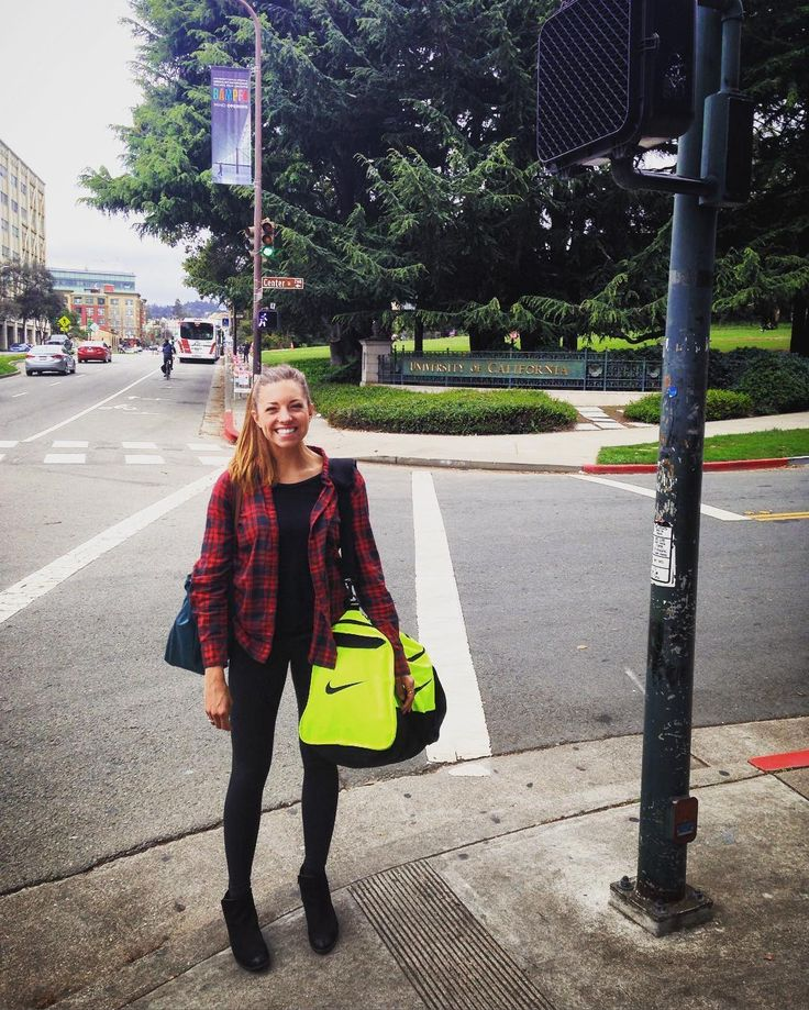 So proud of this young lady for getting into Berkeley Haas School of Business! Don't be fooled by her PNW plaid African sunburnt face and neon green duffle bag - she's gonna boss out in business school and take the world by storm. I can't wait to see all the amazing things she will accomplish  #HaasforaBoss #pivoting #wcweveryday by miss.frizzle