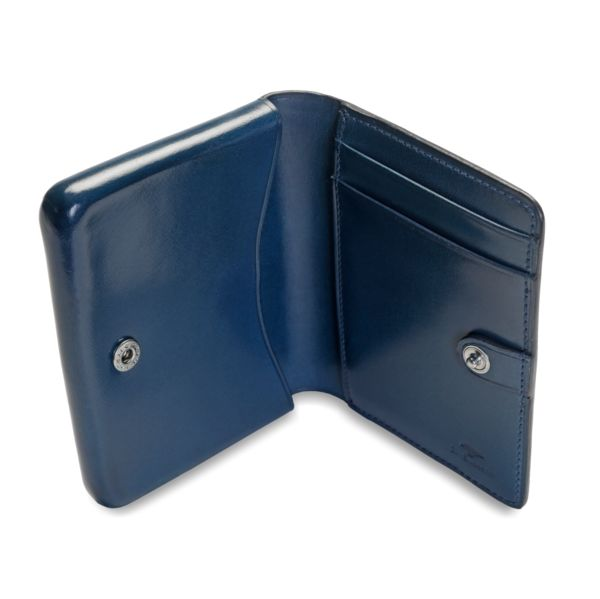 NoLo Wallet in coloured leather by Il Bussetto #mensfashion #nolowallet #wallet #leather #leathercraft #leathergooods #ilbussetto #colouredleather
