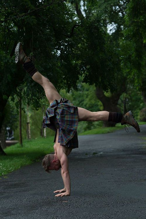 Kilted Yoga - Book and Video