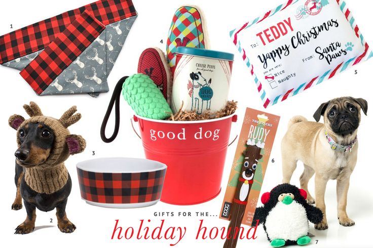 The ultimate holiday gift guide for #dogs - the best stocking stuffers, dog treats, toys and dog #christmas presents to pamper your pet this #holiday season.