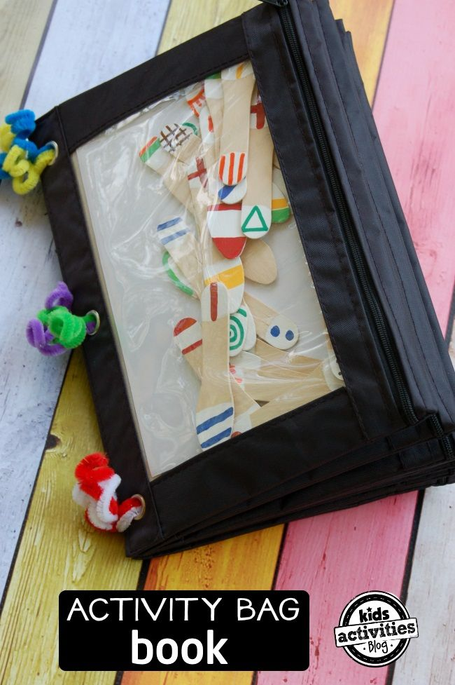 How to make an on-the-go activity bag for your kids. Lots of great ideas here from Kids Activities Blog.