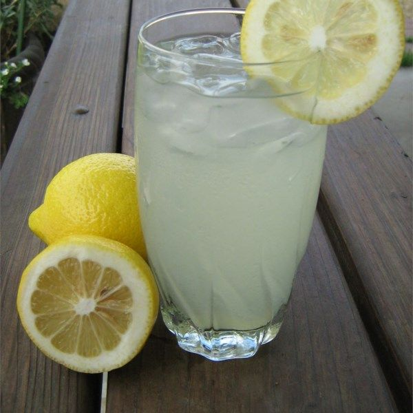 """Best Lemonade Ever   """"This one's a keeper. Yes, it is labor intensive. Hey, you might even build up your triceps with all that lemon twisting action - but, if you have the time, the effort is well worth it."""" #recipe #newyearseve #holidays #drink"""
