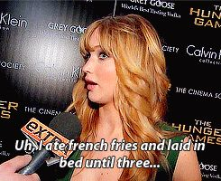 The 25 Best Jennifer Lawrence Quotes Of 2012. She might be my favorite person