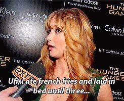 The 25 Best Jennifer Lawrence Quotes 2012. She cracks me up!