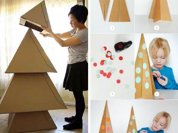 7 alberi di Natale alternativi da fare insieme ai bimbi